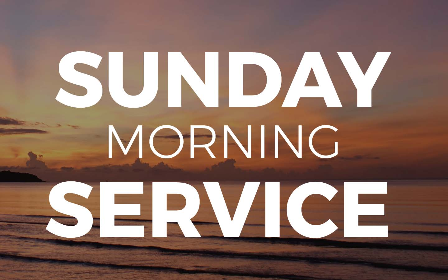 Sunday Morning Service - Living Word Church of Ludington